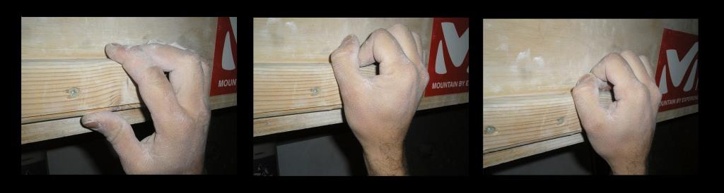 Posición de los dedos